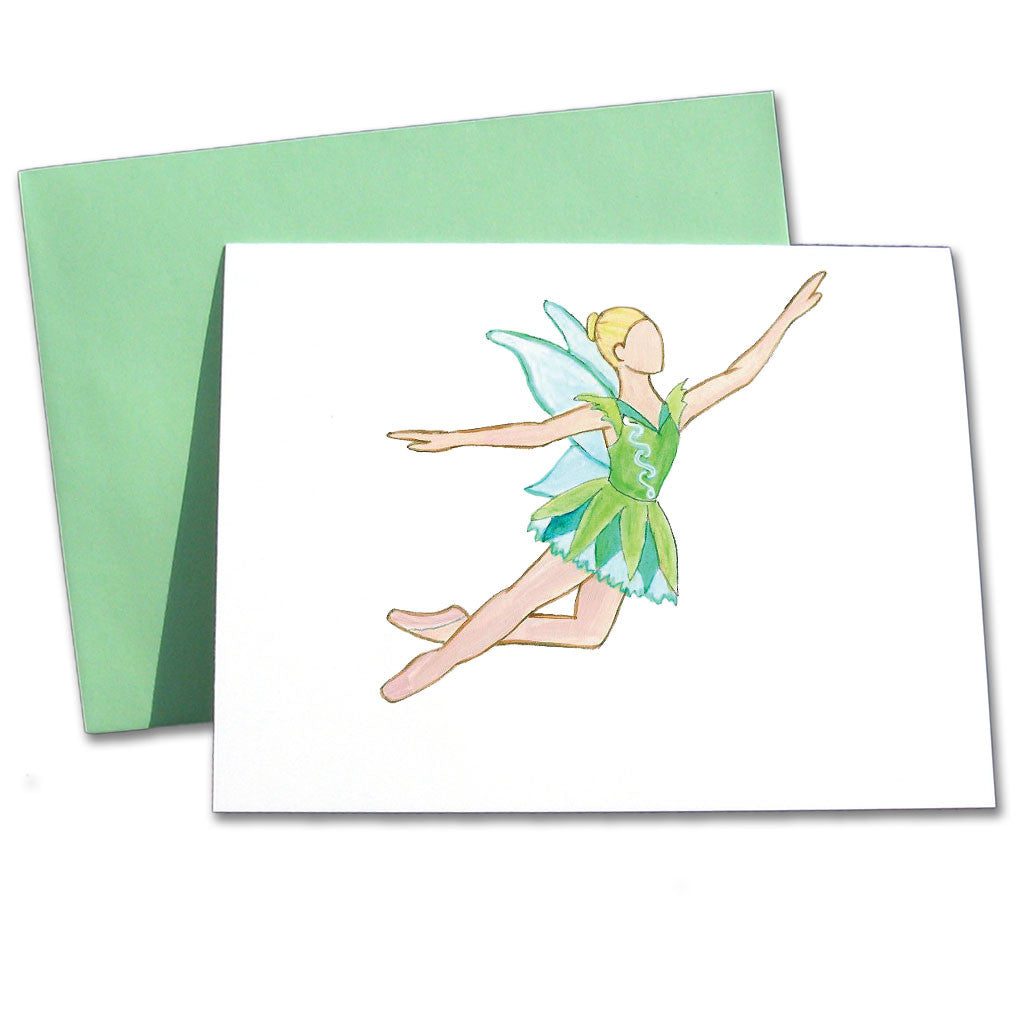 Tinkerbell Note Cards - Ballet Gift Shop