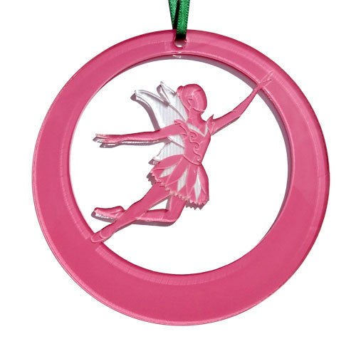 Tinkerbell Laser-Etched Ornament - Ballet Gift Shop