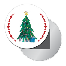 Load image into Gallery viewer, Christmas Tree Button/Magnet/Mirror