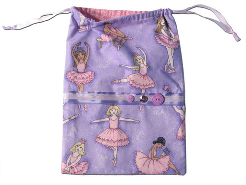 Ballet Drawstring Tote Bags (Choose from 4 designs) - Ballet Gift Shop