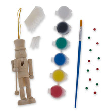 "Load image into Gallery viewer, 5"" Paint Your Own Nutcracker Ornament Kit"