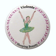 Load image into Gallery viewer, Violente (Fairy of Passion) Button/Magnet/Mirror - Ballet Gift Shop