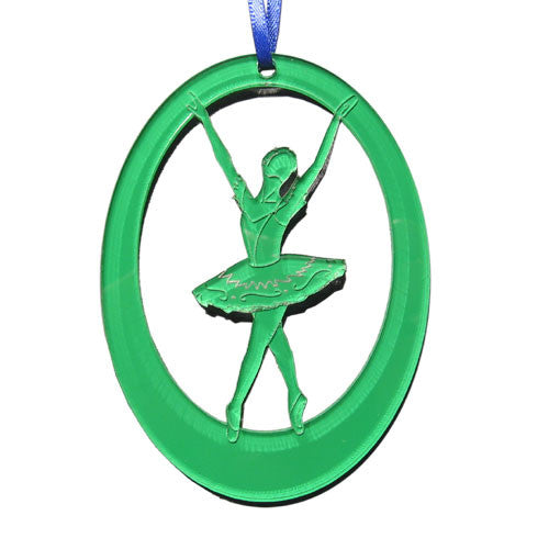 Violente / Fairy of Passion Laser-Etched Ornament - Ballet Gift Shop