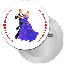 Load image into Gallery viewer, Waltzing Parents at the Party Button/Magnet/Mirror