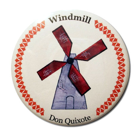 Windmill Button/Magnet/Mirror - Ballet Gift Shop