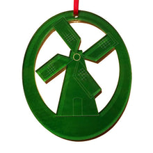 Load image into Gallery viewer, Windmill Laser-Etched Ornament - Ballet Gift Shop