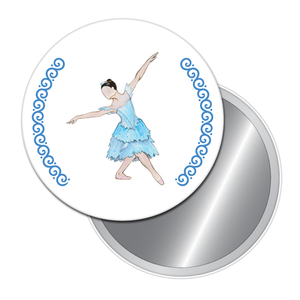 Winter Fairy Button/Magnet/Mirror