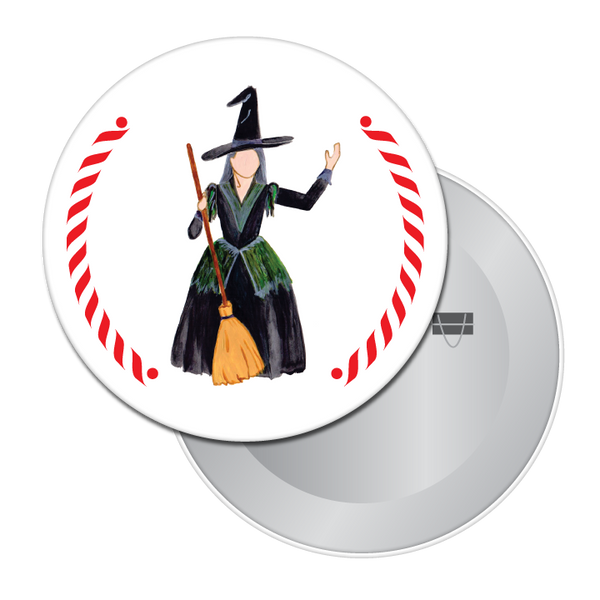 The Witch Button / Magnet