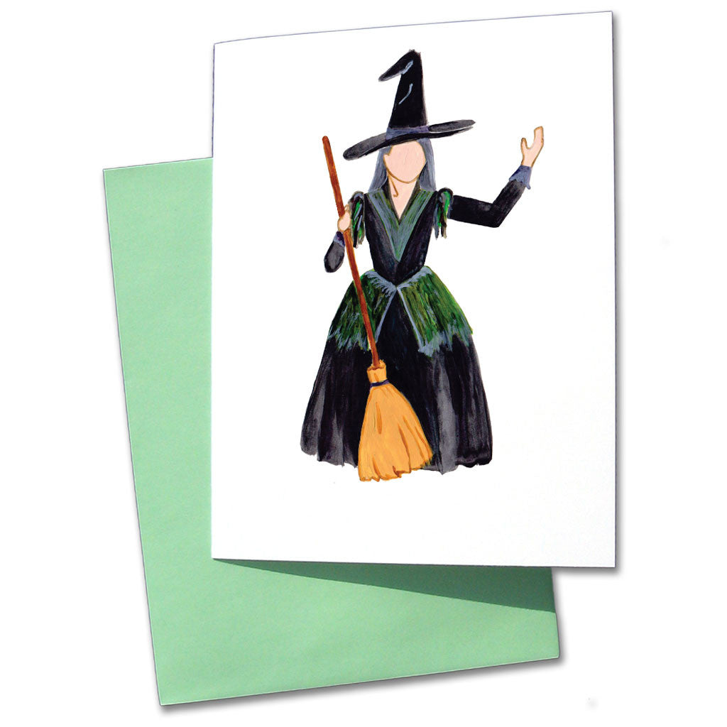 The Witch from Hansel & Gretel Note Cards - Ballet Gift Shop