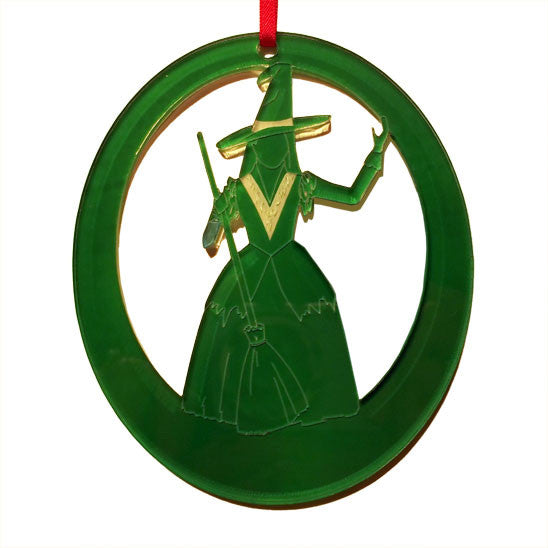The Witch Laser-Etched Ornament - Ballet Gift Shop