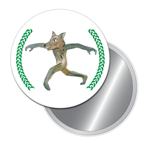 The Wolf Button/Magnet/Mirror