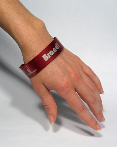 Jazz Dancer Wristband (Choose from 3 colors) - Ballet Gift Shop