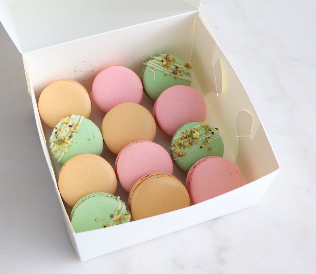 12 Pack Macarons - Isolation Care Package
