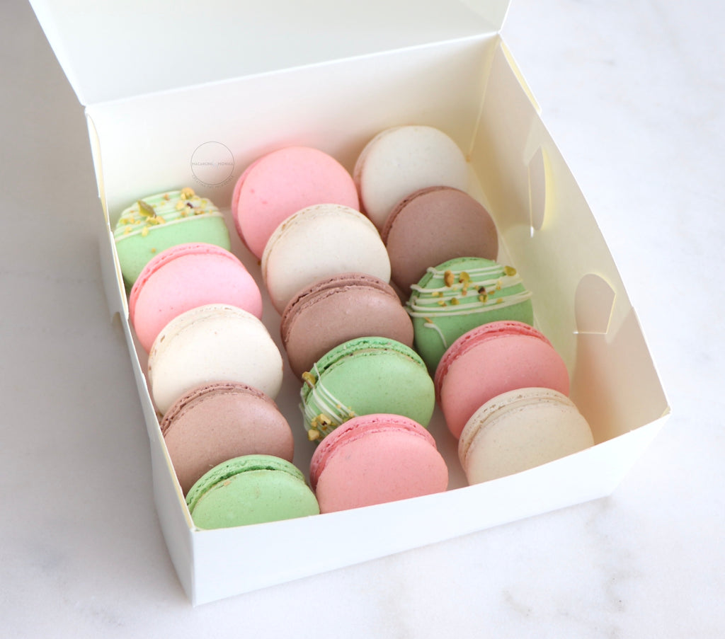 16 Pack Macarons - Isolation Care Package