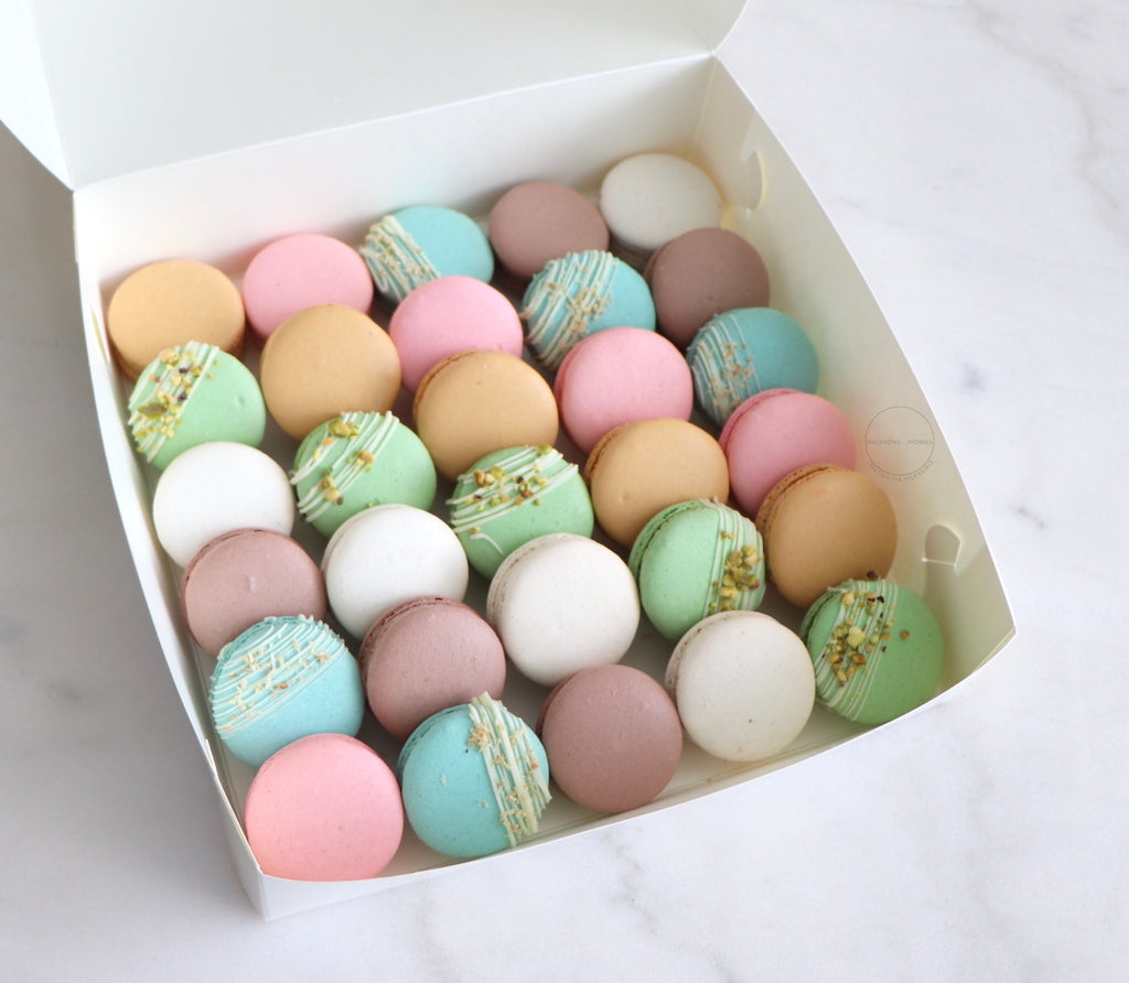 30 Pack Macarons - Isolation Care Package