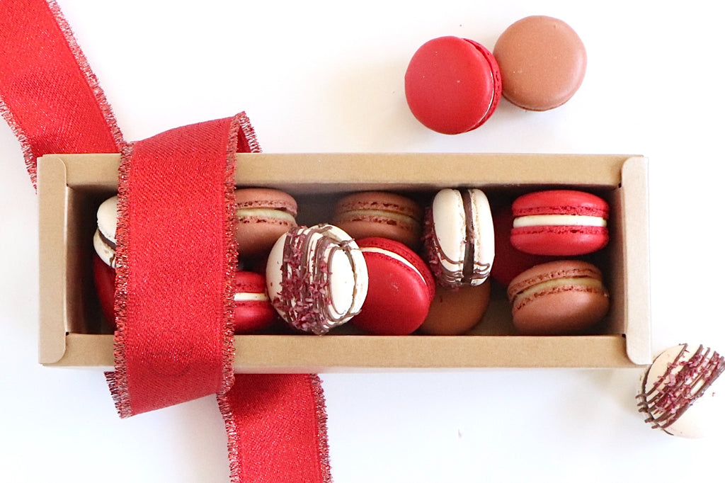 13 - 15 Pack MINI Macarons Gift Box