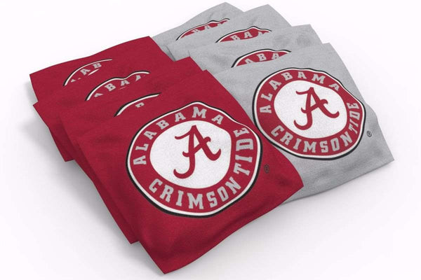 Image: Alabama Crimson Tide 2x4 Cornhole Board Set - Champions (w/Bluetooth Speakers) | Proline Tailgating