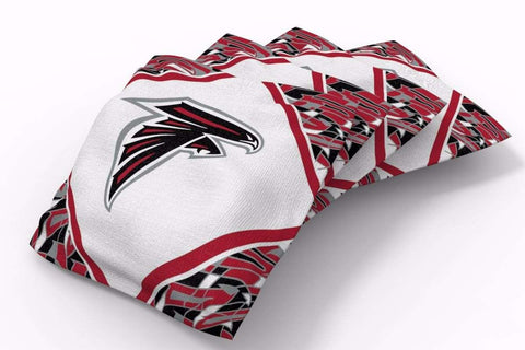 Image: Atlanta Falcons Millennial Diamond Bean Bags-4pk (A) | Proline Tailgating