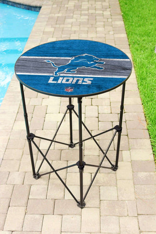 Image: Detroit Lions Round Table | Proline Tailgating
