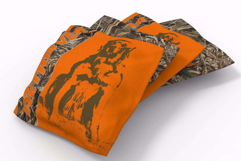 Image: Golden Retriever Hunting Dogs Bean Bags-4pk (A) | Proline Tailgating