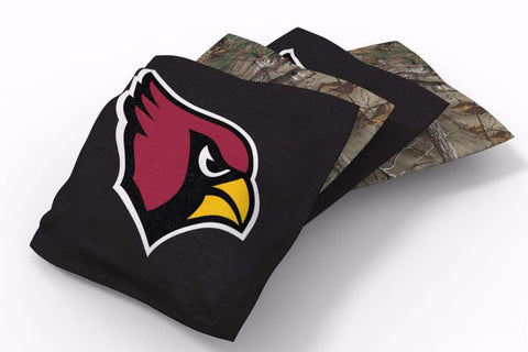 Image: Arizona Cardinals RealTree Camo Bean Bags-4pk (A) | Proline Tailgating