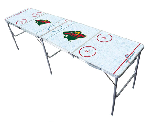Image: Minnesota Wild Tailgate Table | Proline Tailgating