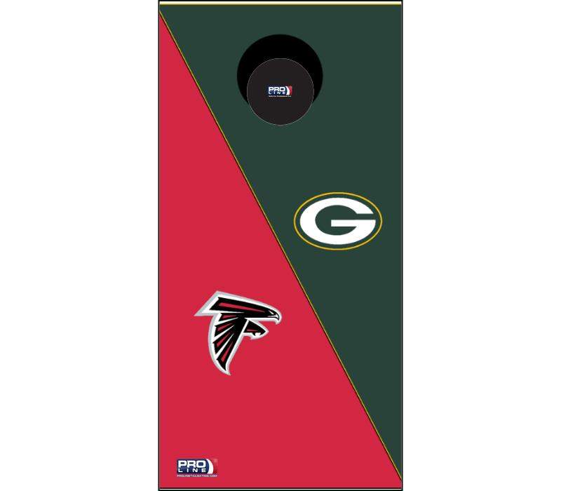Image: Custom Cornhole Board Set | Proline Tailgating