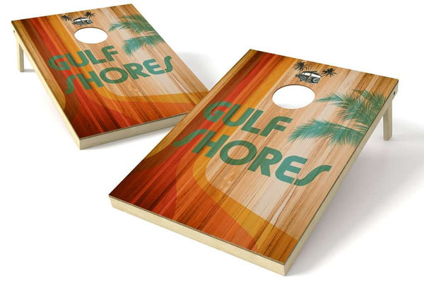 Image: Gulf Shores 2x3 Cornhole Board Set | Proline Tailgating