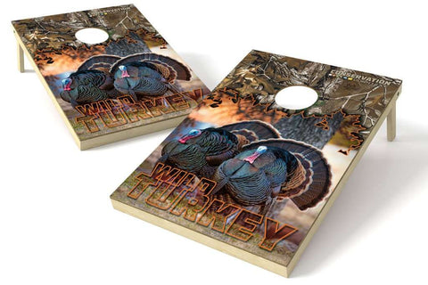Image: Turkey Conservation 2x3 Cornhole Board Set | Proline Tailgating