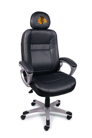 Image: Chicago Blackhawks Executive Office Chair | Proline Tailgating