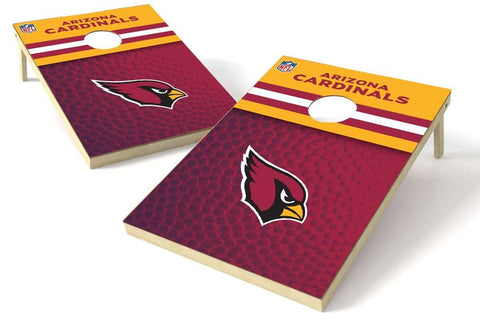 Image: Arizona Cardinals 2x3 Cornhole Board Set - Pigskin | Proline Tailgating