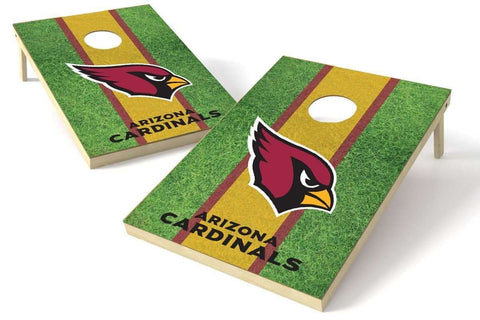 Image: Arizona Cardinals 2x3 Cornhole Board Set - Field | Proline Tailgating