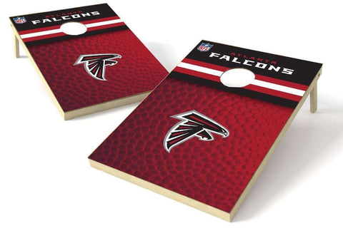 Image: Atlanta Falcons 2x3 Cornhole Board Set - Pigskin | Proline Tailgating
