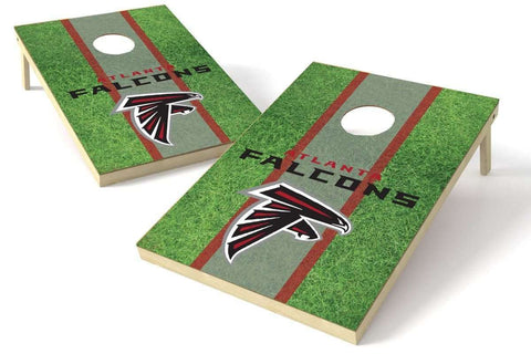 Image: Atlanta Falcons 2x3 Cornhole Board Set - Field | Proline Tailgating