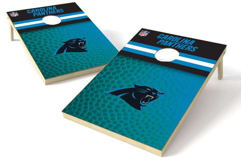 Image: Carolina Panthers 2x3 Cornhole Board Set - Millennial Diamond | Proline Tailgating
