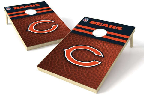 Image: Chicago Bears 2x3 Cornhole Board Set - Millennial S Bend | Proline Tailgating