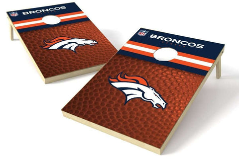 Image: Denver Broncos 2x3 Cornhole Board Set - Millennial Diamond | Proline Tailgating