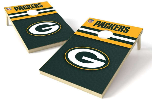 Image: Green Bay Packers 2x3 Cornhole Board Set - Millennial Diamond | Proline Tailgating