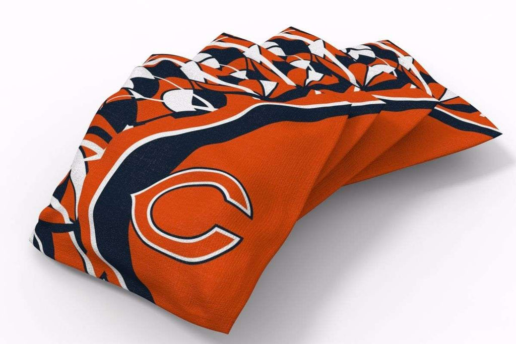 Image: Chicago Bears Millennial S Bend Bean Bags-4pk (B) | Proline Tailgating