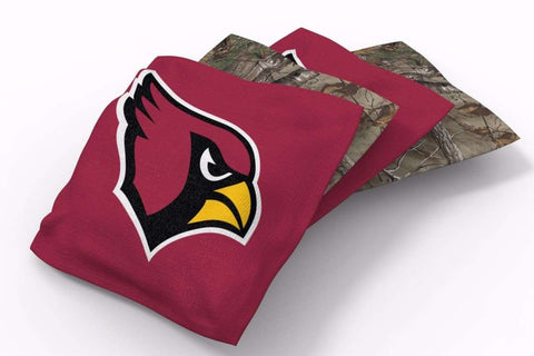 Image: Arizona Cardinals RealTree Camo Bean Bags-4pk (B) | Proline Tailgating