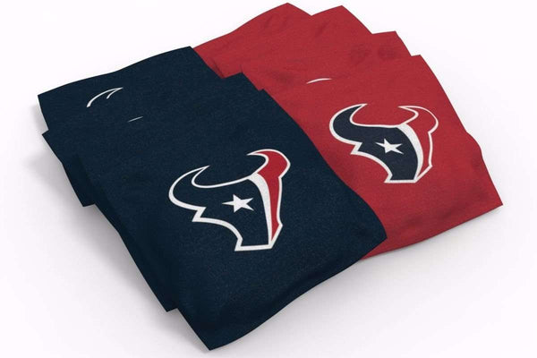 Image: Houston Texans 2x3 Cornhole Board Set - Millennial Stripe | Proline Tailgating