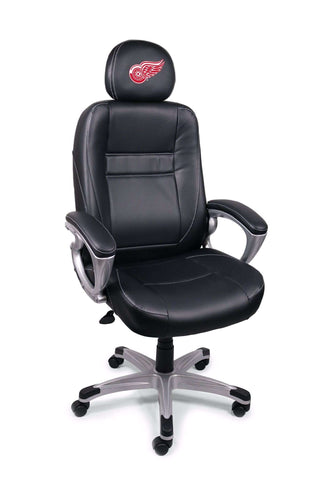Image: Detroit Red Wings Executive Office Chair | Proline Tailgating