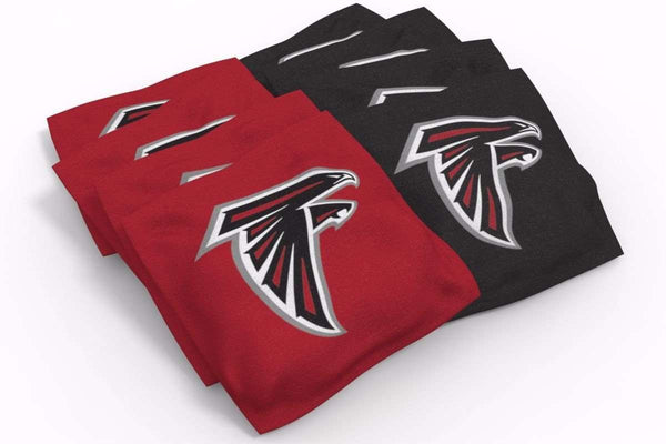 Image: Atlanta Falcons 2x3 Cornhole Board Set - Millennial S Bend | Proline Tailgating