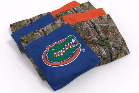 Image: Florida Gators 2x4 Cornhole Board Set - Realtree Max-5<sup>®</sup> Camo | Proline Tailgating