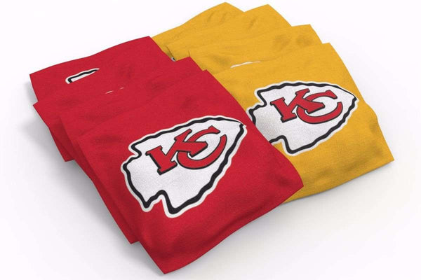 Image: Kansas City Chiefs 2x4 Cornhole Board Set - Medallion | Proline Tailgating