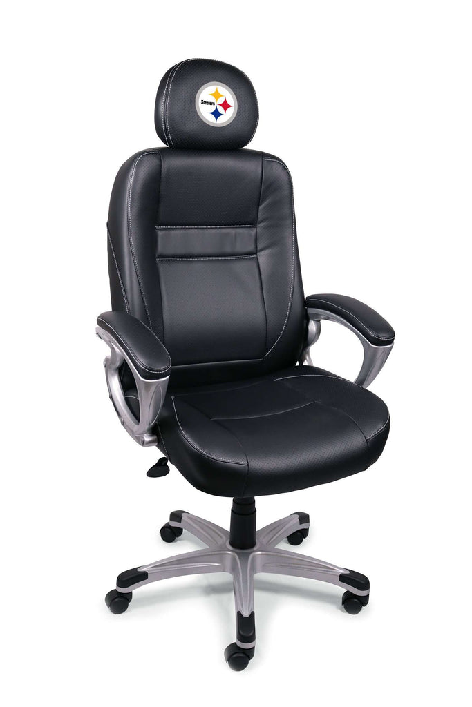 Image: Pittsburgh Steelers Executive Office Chair | Proline Tailgating