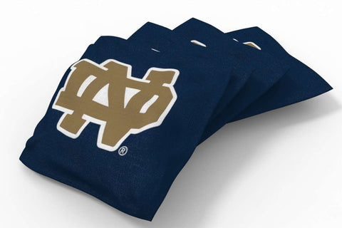 Image: Notre Dame Fighting Irish Solid Bean Bags-4pk (A) | Proline Tailgating