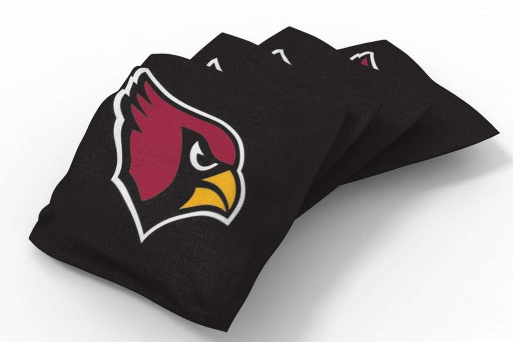 Image: Arizona Cardinals Solid Bean Bags-4pk (B) | Proline Tailgating