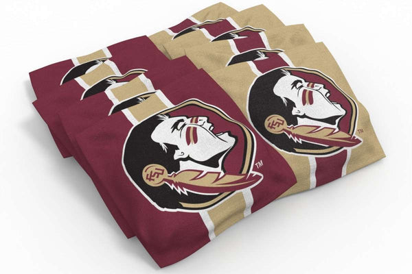 Image: Florida State Seminoles 2x4 Cornhole Board Set - Ripped | Proline Tailgating
