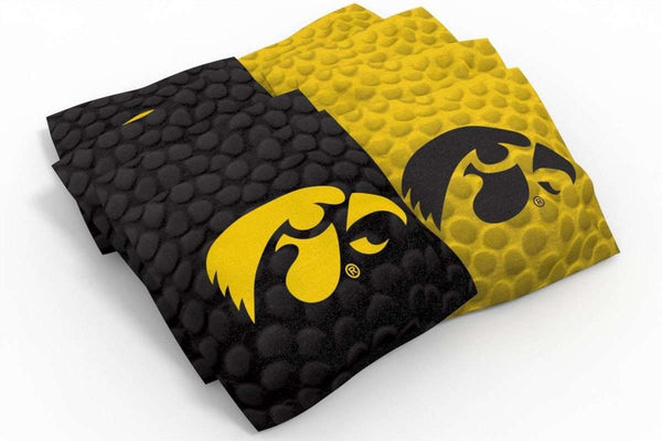 Image: Iowa Hawkeyes 2x4 Cornhole Board Set - Realtree Max-5<sup>®</sup> Camo | Proline Tailgating